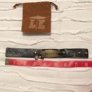 Lenny & Eva Jewelry - Lenny & Eva black leather interchangeable bracelet